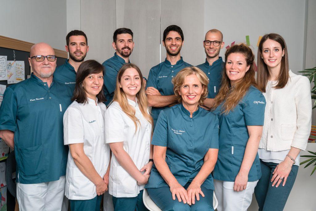 Team poliambulatorio medico dentistico